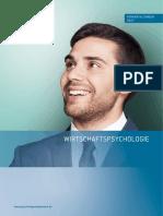 Deutsche Psychologen Akademie Broschuere Wirtschaftspsychologie