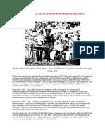 Memperingati Detik Sejarah Kemerdekaan Malaysia
