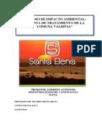 Eia Planta de Tratamiento Comuna Valdivia
