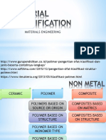 Material Classification Non Metal