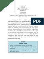 Topikal antibiotik dan antifungal