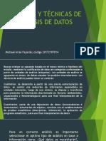 Métodos y Técnicas de Análisis de Datos