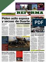 Primeras PLANAS MEDIOS NACIONALES MÉXICO 20 octubre 2017