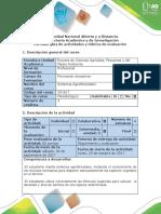 Guía de Actividades y Rúbrica de Evaluación - Paso 3 - Formulación de Soluciones