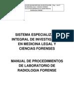 3 Manual de Procedimientos de Laboratorio de Radiologia Forense