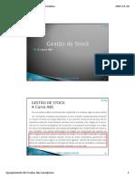 Cptig Oeag m4 6.7. Gestao Stocks a Curva ABC