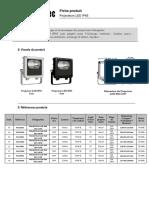 Projecteur LED IP65 - Fiche Produit - Eclairage.pdf