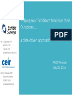 Helping Exhibitors Maximize Their Outcomes 2016