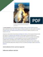 Carrera Espacial - Wikipedia, La Enciclopedia Libre