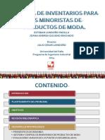 Política de Inventarios Para Los Minoristas de Productos Definitiva.