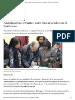 Andahuaylas_ Levantan Paro Tras Acuerdo Con El Gobierno _ Perú _ El Comercio Perú