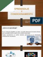 Uiii - Aprendizaje y Condicionamiento