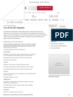 Los Vicios Del Lenguaje - Articulos - ABC Color