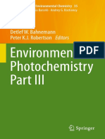 (the Handbook of Environmental Chemistry 35) Detlef W. Bahnemann, Peter K.J. Robertson (Eds.)-Environmental Photochemistry Part III-Springer-Verlag Berlin Heidelberg (2015)