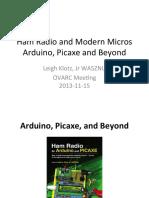 Arduino for Ham Radio Presentation