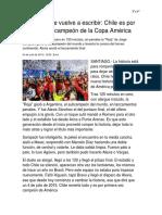Noticia Copa America