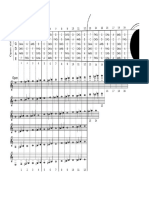 Classical Guitar Diagram