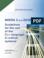 Misra Cpp 2008