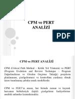 5-CPM Ve PERT Analizi
