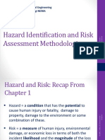 CGE653-Chapter 4 - Hazard Identification and Risk Assessment Methodologies