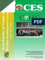Actas Bienales del Colegio de Estudios Guadalupanos (COLEG) 1a parte