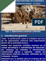 Cap. 2, Operaciones mineras unitarias.pptx