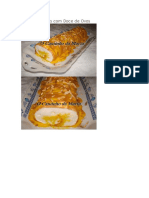 Torta de Claras Com Doce de Ovos
