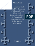 [VigChr Supp 045] Allen Brent - The Imperial Cult and the Development of Church Order ...before the Age of Cyprian .pdf