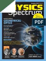 Spectrum Physics November 2016