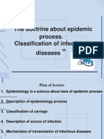 1. Epidemic Process
