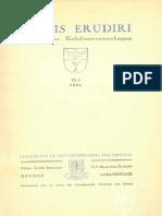 Sacris Erudiri - Volume 06 - Number 1 - 1954.pdf
