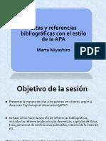 Referencias Bibliográficas Estilo APA