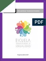 Programa Diplomado ETSex 2017