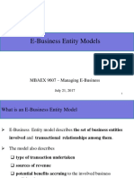 E-Business Entity Models (2)