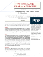 Efficacy of an Adjuvanted Herpes Zoster Subunit Vaccine