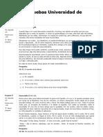 Cuestionario Examen de Admisión 1 UDC