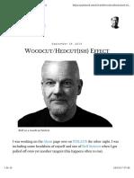 Woodcut Hedcut