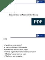 1- Organizations and Organization Theory