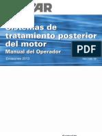 Emission Manuals Models 210-220 Aftertreatment Manual-FR