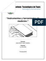 Instrumentos y Herramientas de Medición