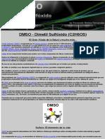 DMSO | Dimetil Sulfóxido | El Gran Aliado de la Salud | by Fernando Muñoz Fernández