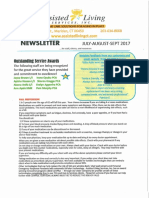2017 Q3 Assisted Living Newsletter