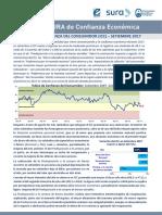 Confianza Del Consumidor - Setiembre 2017