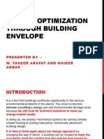 Energy Optimization Through Building Envelope