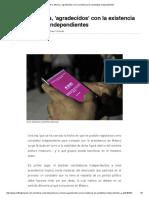 El PRI y Morena, Agradecidos Con La Existencia de Candidatos Independientes