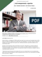 Donaciones Al INE, Sin Transparencia_ Expertos