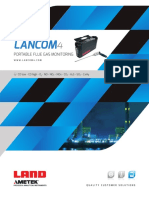 Lancom 4 Portable Gas Analyser Product Brochure