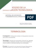 Material Proc. Investigación Tecnológica