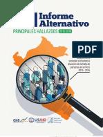 CHS Principales Hallazgos IV Informe Alternativo Final Opt
