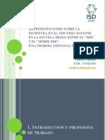 PowerPoint Condito Encuentro ISD 2017